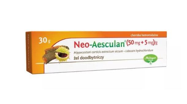 Żel doodbytniczy Neo-Aesculan